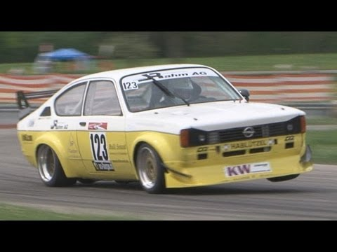 OPEL MOTORSPORT 2012, special Best Of Opel at Hillclimb Switzerland. Opel Kadett C GT/E ..