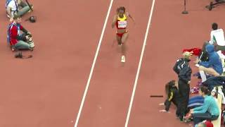 getlinkyoutube.com-Oops! moment of a female triple jumper, Nuth Ndoumbe