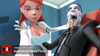 "CGI Sexy Animated Film ""VAMPIRE'S CROWN"" Funny animation by Hertfordshire University"