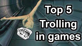 getlinkyoutube.com-Top 5 - Trolling in games