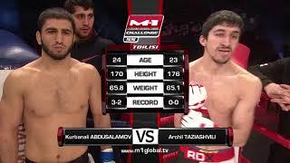 getlinkyoutube.com-Kurbanali Abdusalamov vs. Archil Taziashvili, M-1 Challenge 55, M-1 Global - FREE