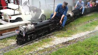 "getlinkyoutube.com-Hesston Steam Museum: 1.5"" Scale Live Steam Trains 720P!"