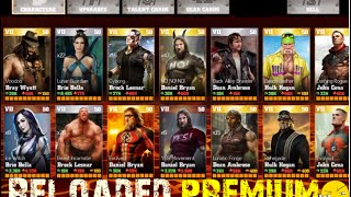 getlinkyoutube.com-WWE Immortals:Reloaded Premium wbid,All Characters,Coins,Energy IOS/Android