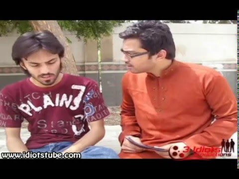 Aamir Liaqat Parody by 3 Idiotzz