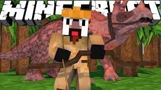"getlinkyoutube.com-Minecraft Dinosaurs | Jurassic Craft Roleplay Ep 78! ""TRICERATOPS REUNION!"""