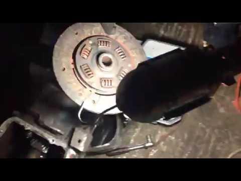 Снятие КПП в гаражных условиях