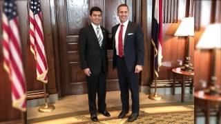 Cónsul de México en K.C. se reunió con el Gobernador de Missouri Eric Greitens.