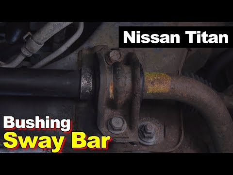 Nissan Titan Sway Bar Mount To Frame Bushing (Power Steering Leak)