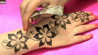 Floral Blast Mehndi Designs For Romantic Date|Unique Easy Classy Mehendi Art Tattoo Idea