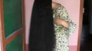 getlinkyoutube.com-indianrapunzels.com--long hair play 1