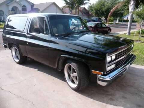 Custom Chevy K5 Blazer