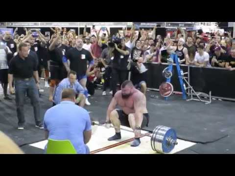 @eddiehallWSM- 462 KG / 1018.5 Pounds - World Record Dead Lift