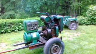 getlinkyoutube.com-Slavia 9 HP diesel