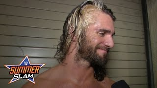 getlinkyoutube.com-Seth Rollins comments on the chaos that was the Lumberjack Match