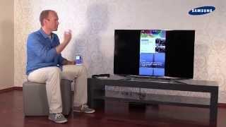 getlinkyoutube.com-Samsung TV 2014 - 11 SmartView App / ScreenMirroring