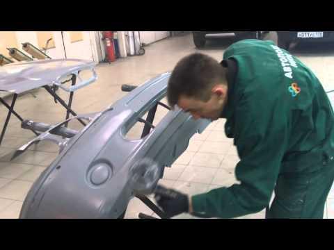 Rover 45 грунтуем капот(1)