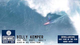 getlinkyoutube.com-Billy Kemper at Jaws 1 - 2017 Billabong Ride of the Year Entry - WSL Big Wave Awards