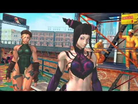 Street Fighter X Tekken - The Half Pipe Theme (Round 1)