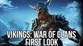 getlinkyoutube.com-Vikings: War of Clans (Free Online Strategy MMO): Watcha Playin'? Gameplay First Look