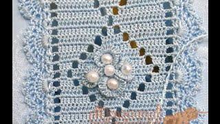getlinkyoutube.com-عمل وريدة داخل الكوزة سهلة و رائعة / Randa / Crochet / مع أم سعد عبد الله