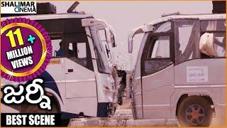 getlinkyoutube.com-Journey Movie || Extraordinary Bus Accident Scene Ever || Jai, Anjali, Ananya, Sharvanand