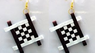Quilling Earrings Designs Latest Model Quilling paper earrings Tutorial