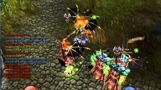 XRaylight vs gradiador1 . Noria server 9 (mu online)
