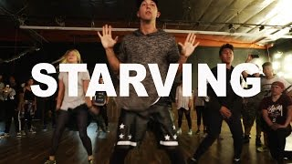 "getlinkyoutube.com-""STARVING"" - Hailee Steinfeld ft Zedd Dance 