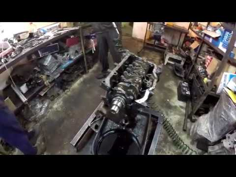 Змз 51432 обрыв цепи, разобрали двигатель!