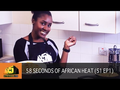 NIGERIAN FRIED RICE RECIPE - 58 SECONDS OF AFRICAN HEAT [S1 Ep.1]