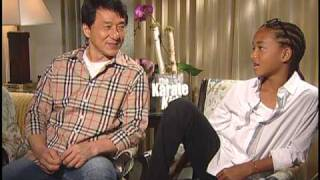 getlinkyoutube.com-Jaden Smith and Jackie Chan Interview for THE KARATE KID