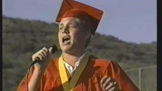 getlinkyoutube.com-Adam Lambert at Mt Carmel graduation 2000