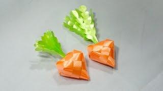 getlinkyoutube.com-วิธีพับเหรียญโปรยทานแครอท,หัวไชเท้า (Carrot,Radish) - 108 Ribbon