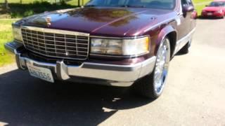getlinkyoutube.com-Cadillac Fleetwood on 8s