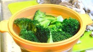 getlinkyoutube.com-ブロッコリーゆで方  How to boil broccoli