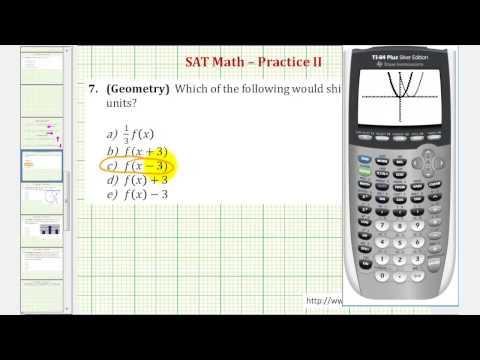 SAT Math (Geometry) - Practice 2.7