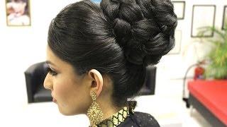 getlinkyoutube.com-TUTORIAL: Indian Bridal Hairstyle