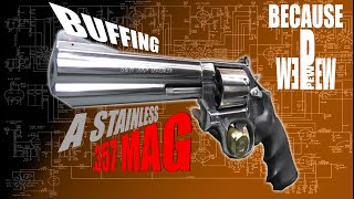 getlinkyoutube.com-Buffing a Stainless Smith and Wesson 686 to a Mirror Finish
