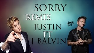 getlinkyoutube.com-sorry remix con letra - justin bieber and j balvin. lyrics of the song in the video