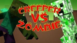 getlinkyoutube.com-CREEPER VS ZOMBIE | ESPECIAL 1 MILLÓN | PARTE 2