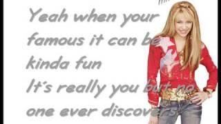 getlinkyoutube.com-Hannah Montana - The best of both Worlds [w/Lyrics] HQ