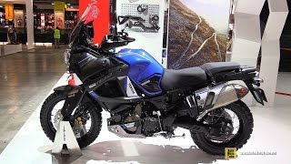 getlinkyoutube.com-2017 Yamaha Super Tenere World Crosser XT1200Z - Walkaround - 2016 EICMA Milan