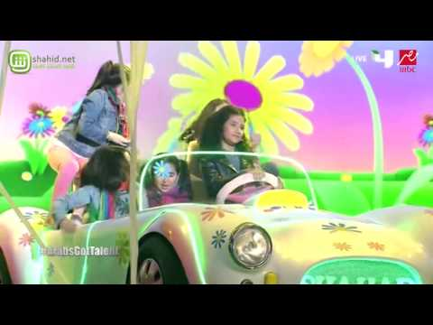 Arabs Got Talent -شهد العميري- عرض النصف نهائيات