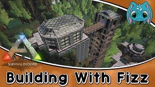getlinkyoutube.com-ARK:Survival Evolved Building w/ Fizz :: The Observatory Tower Build!!!