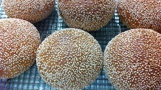 getlinkyoutube.com-طريقة عمل العيش الكيزر How to make Bun Bread