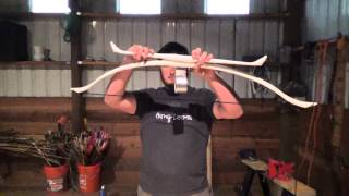 April Fools Bow 2015 - Making a 25-55 Pound Adjustable PVC Penobscot Inspired Double Bow
