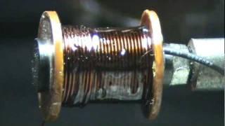 getlinkyoutube.com-Handmade tattoo machine - winding coils from MD tattoomachine  (Moldova)