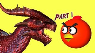 getlinkyoutube.com-ANGRY BIRDS vs DRAGONS !!!  ♫  3D animated  DRAGON GAME mashup ☺ FunVideoTV - Style ;-))