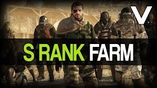 getlinkyoutube.com-Metal Gear Solid 5: The Phantom Pain - Fast A++/S Rank Soldier Farm