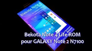 getlinkyoutube.com-[ROM] Blekota Note 4 KK 4.4.4 pour GALAXY Note 2